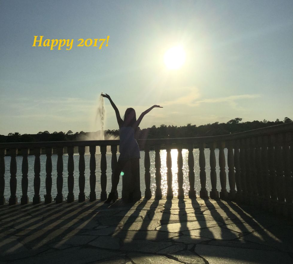 It's a sunshine-y start to 2017. Happy New Year!