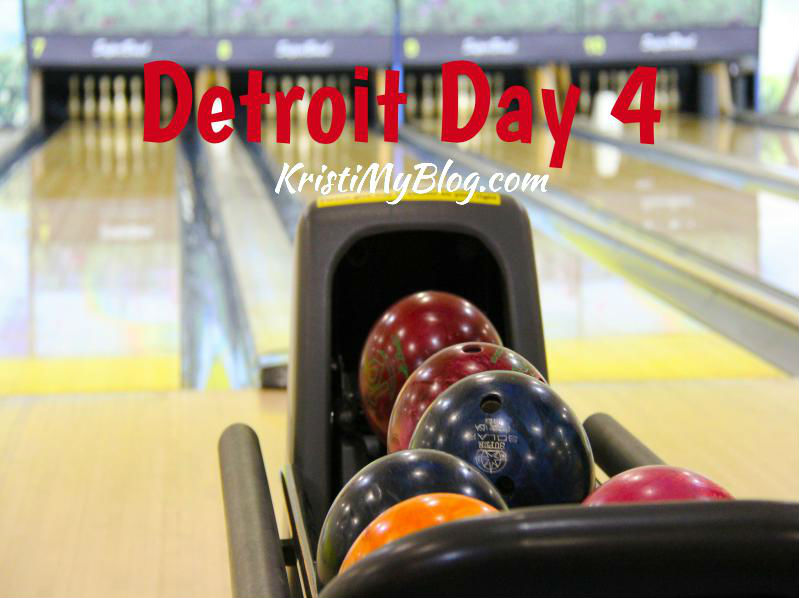 Bowling Title Image. Detroit Day 4.