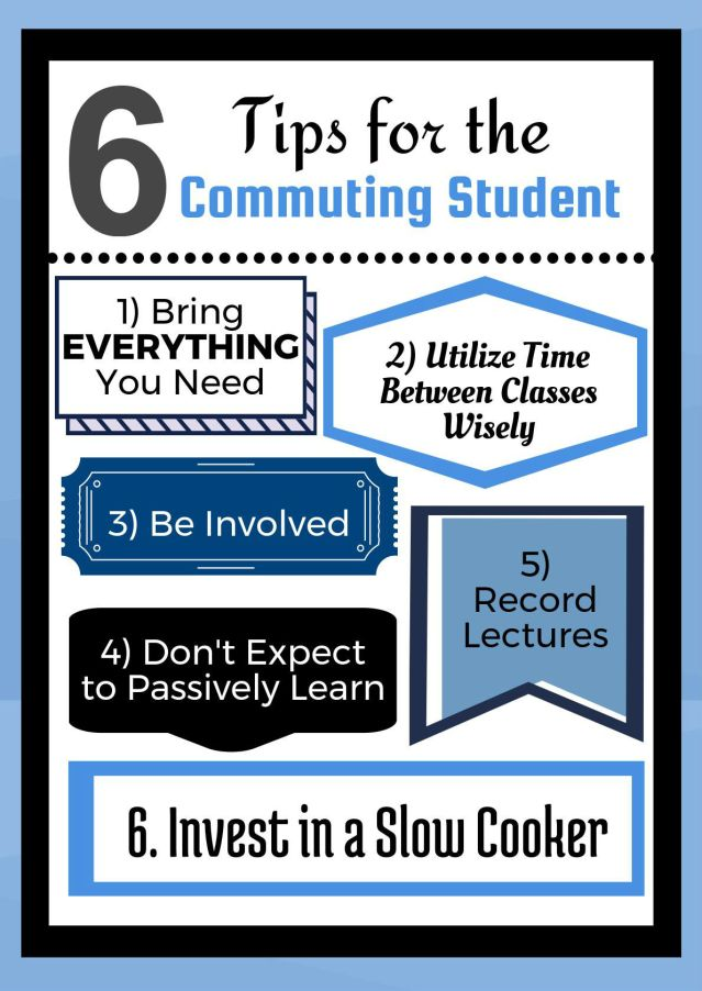 Commuting Student Tips 6