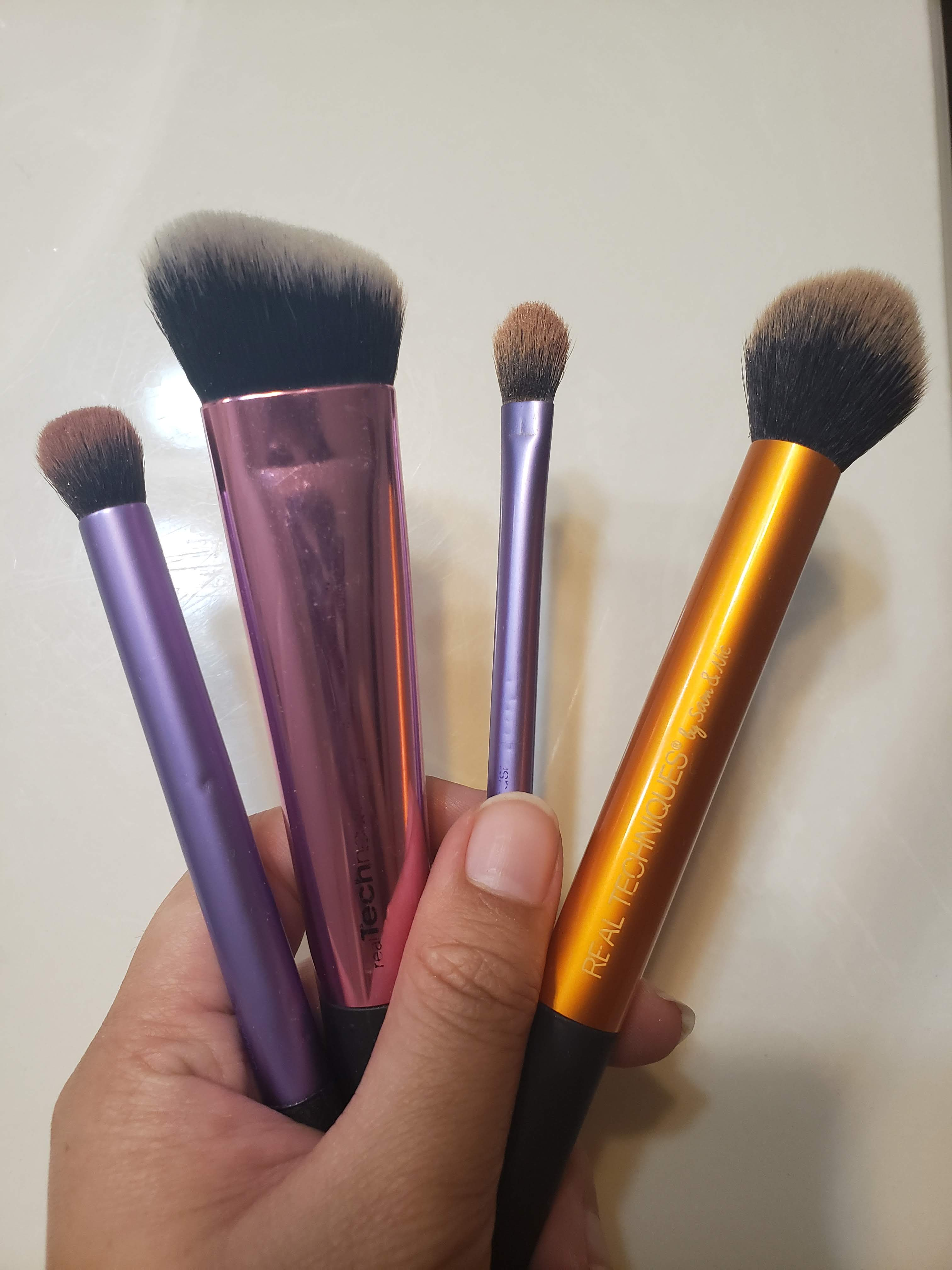 These are just a few of the brushes I have on hand. I swear by these brushes.