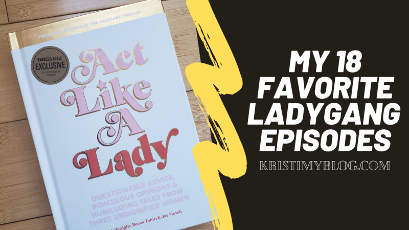 My 18 Favorite LadyGang Episodes Header Image