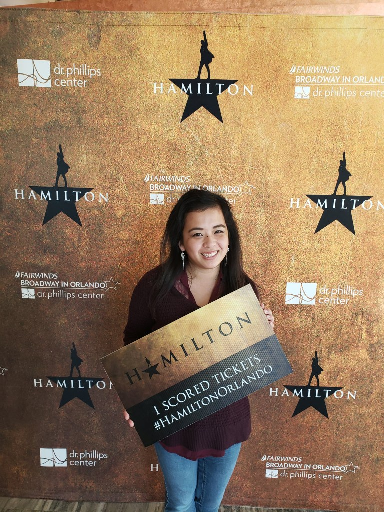 You have no idea the level of stress and patience I invested in getting these Hamilton tickets... Looking back though, I can say that it was absolutely worth it.