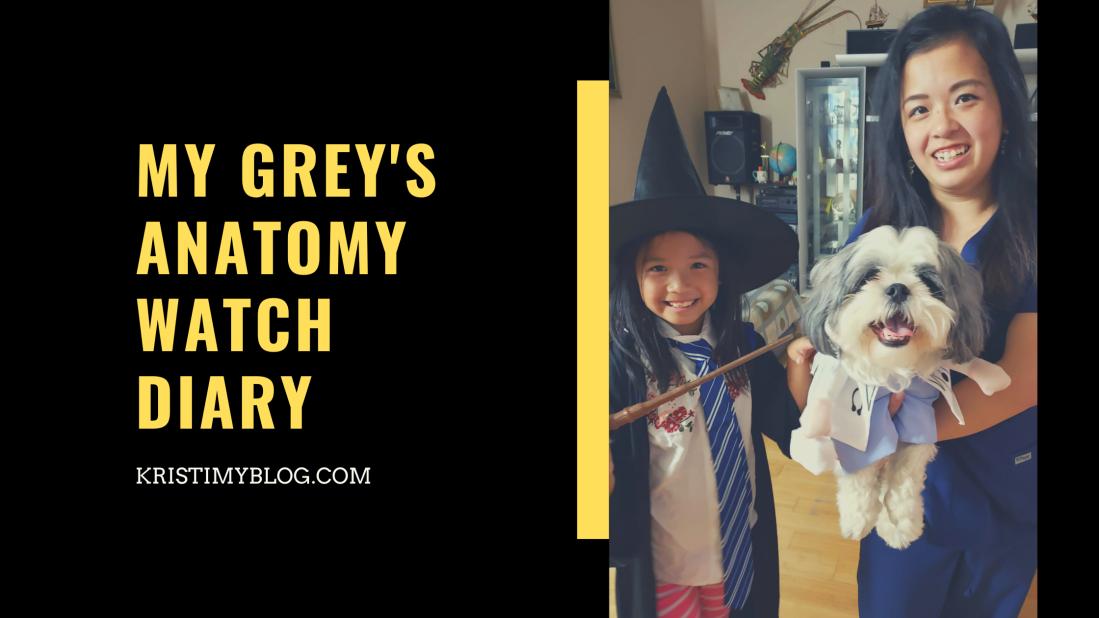 My Grey's Anatomy Watch Diary Header Image