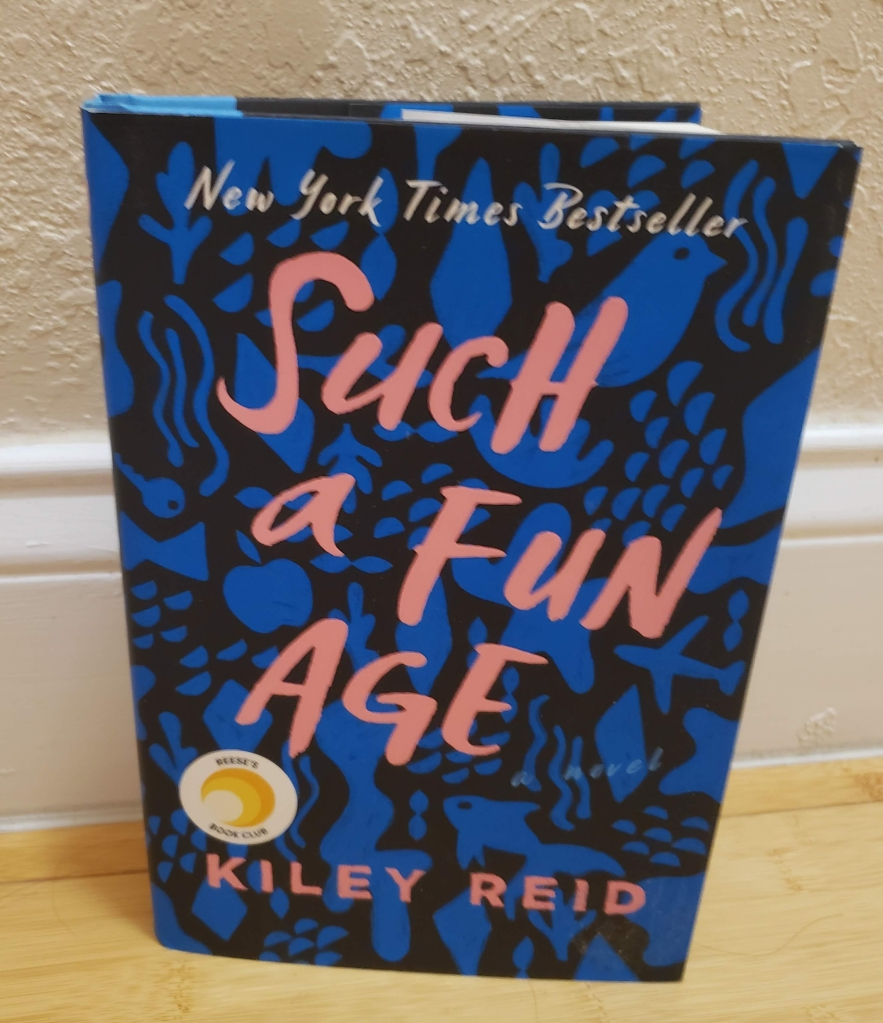 I remember picking up Such a Fun Age by Kiley Reid because it was on Reese's Book Club list, but I'm even more excited to get through it in relation to Black History Month.