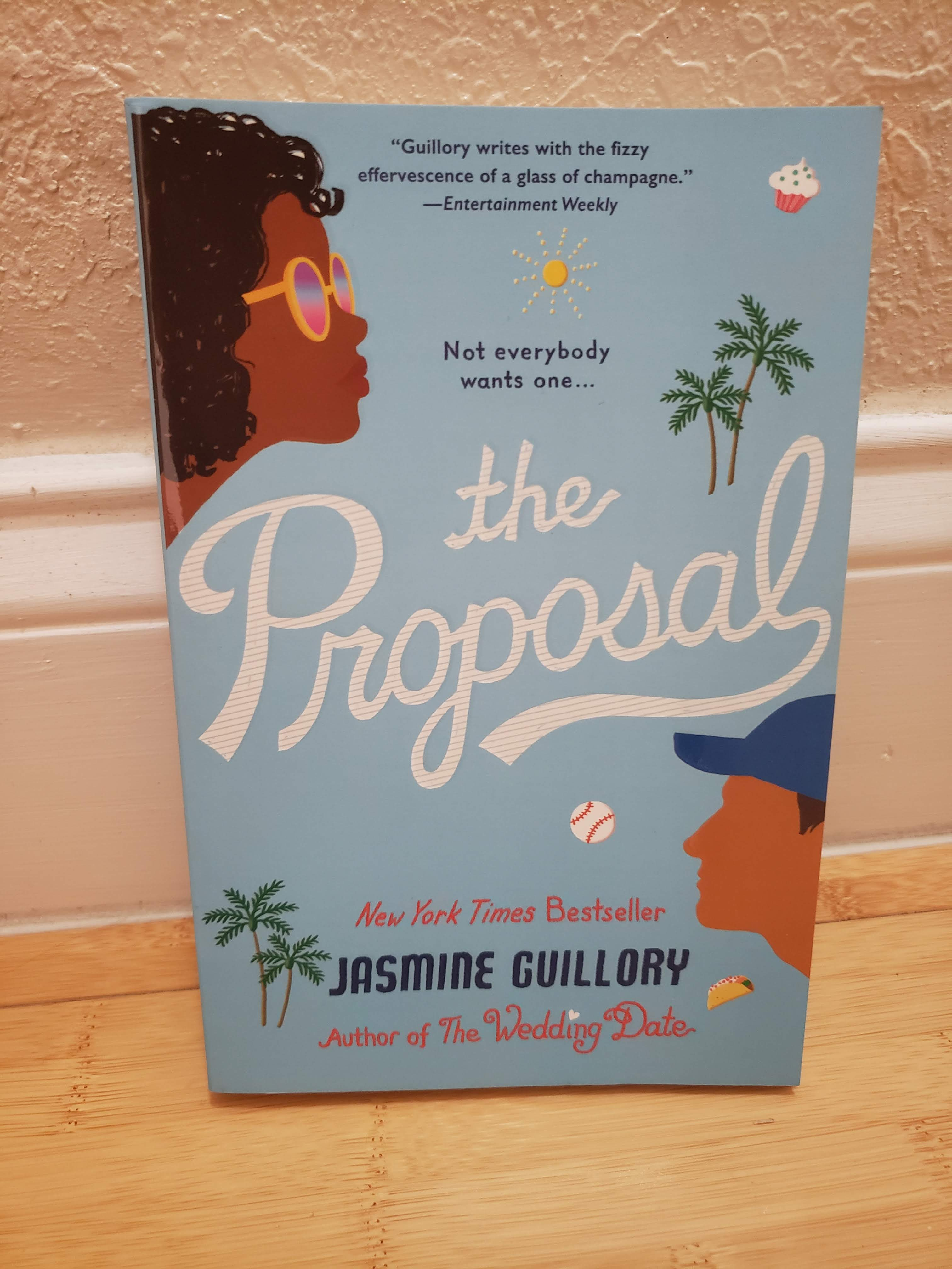 I haven't read The Proposal by Jasmine Guillory yet, but I'm definitely looking forward to reading it this weekend.