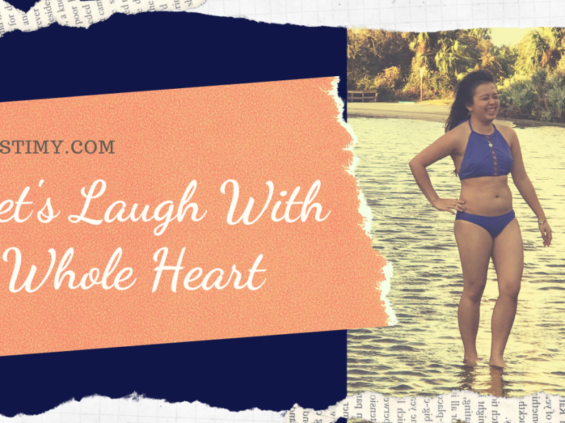 Let's Laugh With a Whole Heart Header Image