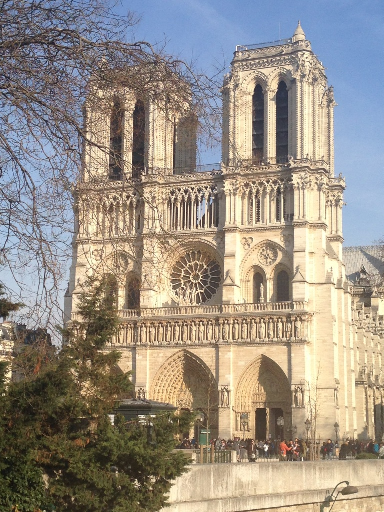 I was fortunate enough to walk through Notre Dame before it caught fire all those years ago. I'm grateful for that.