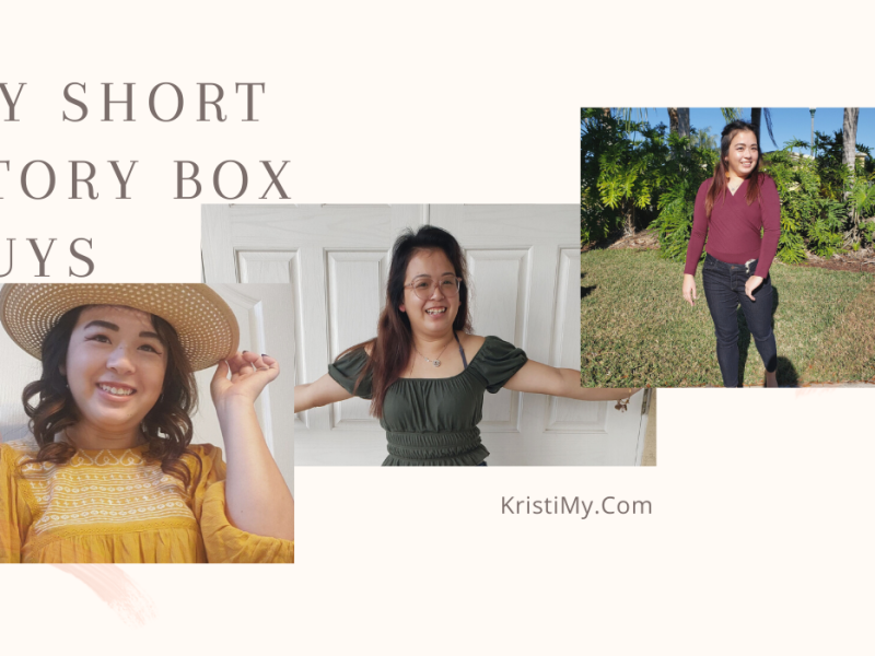 My Short Story Box Buys Header Image