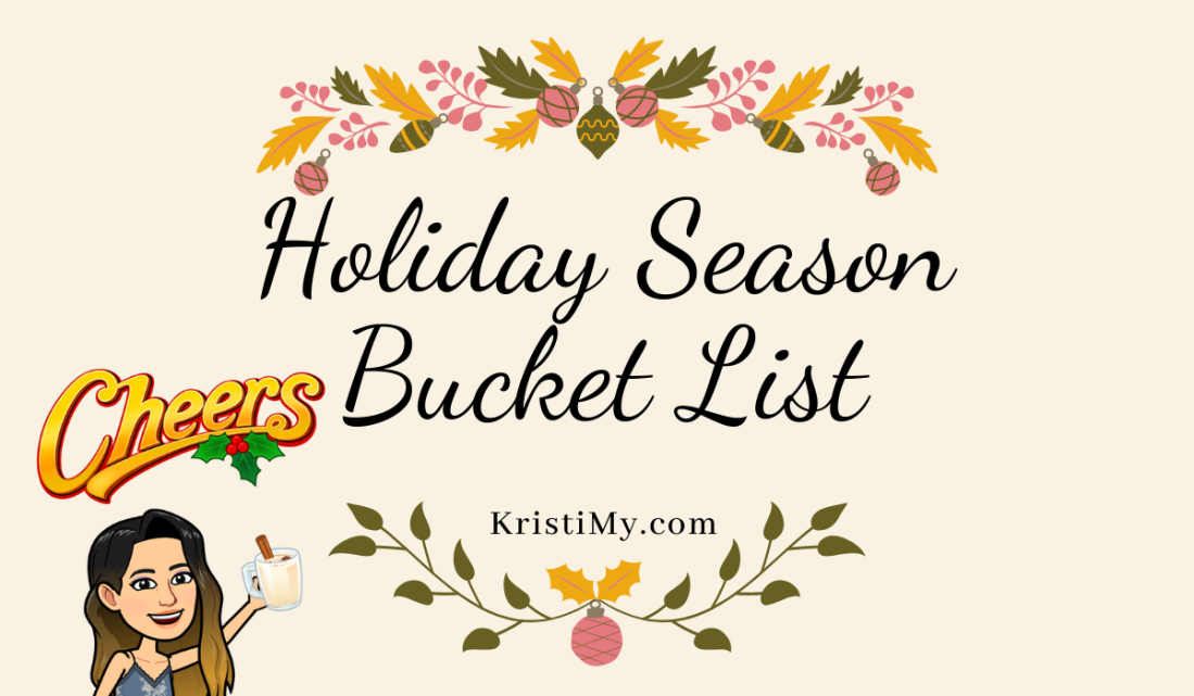 Holiday Season Bucket List Header Image